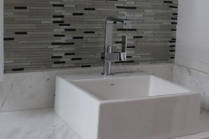 Marble lavatory